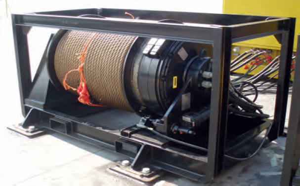 25 tons winches