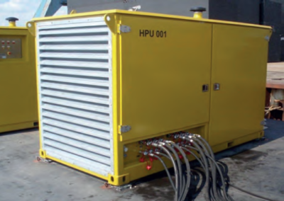 Hydraulic power unit 121 kW