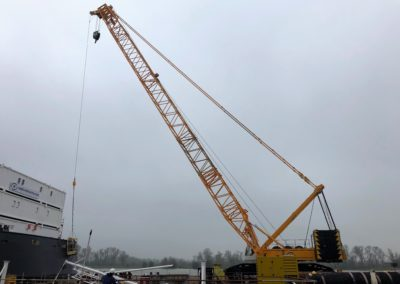 Sany SCC 3200 crawler crane
