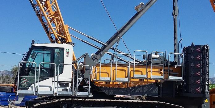 Liebherr LR 1110 crawler crane