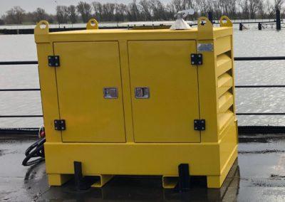 Hydraulic power unit 78 kW