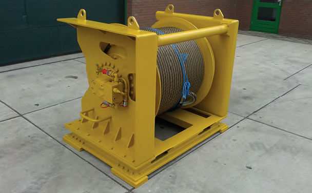 15 tons winches